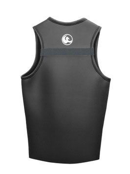 Kaion Men's Vest  Color : DARK GRAY