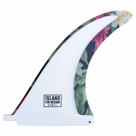 ISLAND FIN DESIGN ISLANDER IN 2-COLOR LACK ALOHA size : 9.5