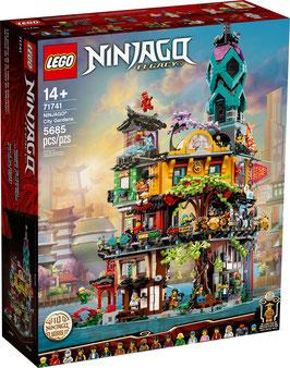 LEGO® NINJAGO® 71741 Die Gärten von Ninjago City