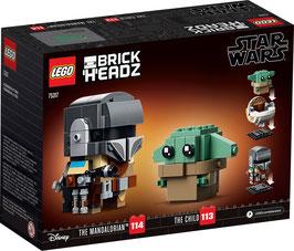 LEGO® BrickHeadz 75317 Der Mandalorianer™ und das Kind