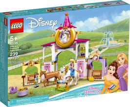 LEGO® Disney™ 43195 Belles und Rapunzels königliche Ställe