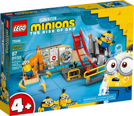 LEGO® Minions: The Rise of Gru 75546 Minions in Grus Labor
