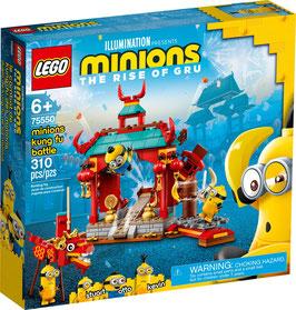 LEGO® Minions: The Rise of Gru 75550 Minions Kung Fu Tempel