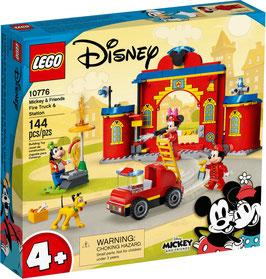 LEGO® Disney™ 10776 Mickys Feuerwehrstation und Feuerwehrauto