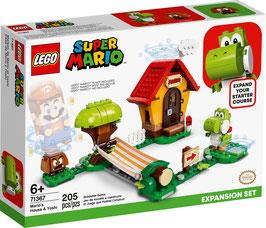 LEGO® Super Mario 71367 Marios Haus und Yoshi – Erweiterungsset