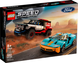 LEGO® Speed Champions 76905 Ford GT Heritage Edition und Bronco R