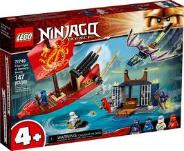 LEGO® NINJAGO® 71749 Flug mit dem Ninja-Flugsegler