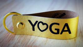 """Schlüsselhelfer  GOLD """"Yoga"""""""