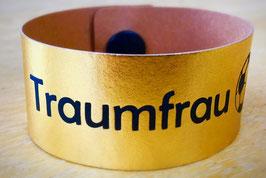 """Armband GOLD """"Traumfrau"""""""