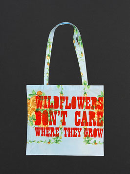 Tote Bag Wildflowers Don't Care Where They Grow