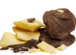 Kakaomasse roh & Kakaobutter kaltgepresst Rohkost, BIO zertifiziert ohne Zusatzstoffe (2 x 100g)