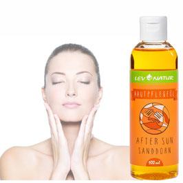 After Sun, Gesichtsmassageöl Pflegeöl mit Sanddornöl 100ml