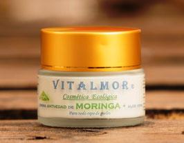 Crema de Moringa con Aloe Vera