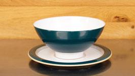 Teeschale mit Untertasse.