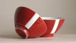 Teeschale 2116 mit Streifen