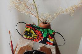 Mundbedeckung/Behelfsmaske Batik-Art