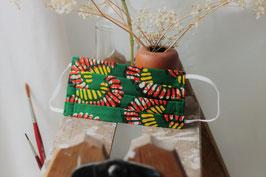 Mundbedeckung/Behelfsmaske bunte Blätter