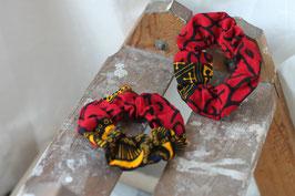 Haargummi rot-gelb-schwarz