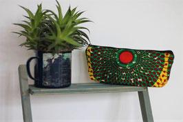 Federtasche 'Grüne Blüte'
