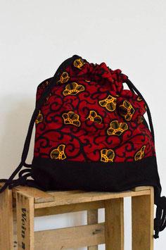 Rucksack 'Kleine Blumen'