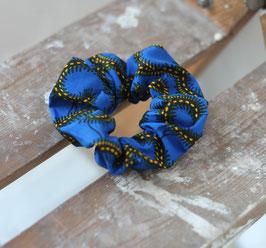 Haargummi klassisch blau
