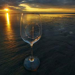 Weingläser Meerverliebt