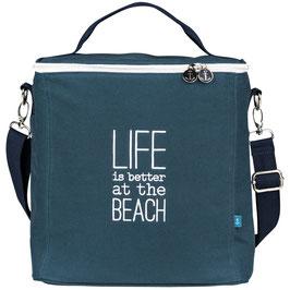 Augen zu und Meer - Kühltasche