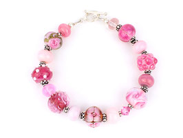 Unikat-Armband rosa