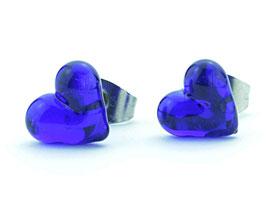 Herzchen Kobaltblau