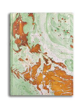 Marbled paper photo album - Veronica