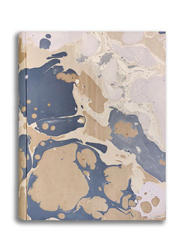 Marbled paper photo album - Sonia