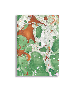 Marbled paper notebook - sketchbook Veronica