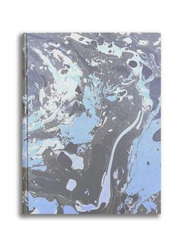 Marbled paper photo album - Susan