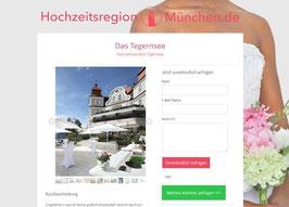 Anbieter-Präsenz auf Hochzeitsregion-München.de