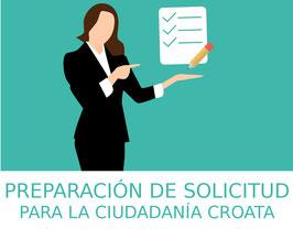 Servicio de preparación del formulario de la solicitud