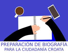 Servicio de preparación de su biografía en idioma croata