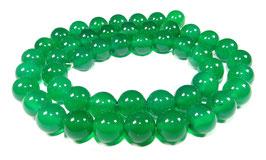 Grüner Onyx Kugeln 8 mm - Strang