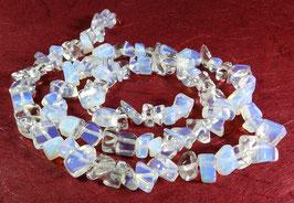 Opalith / Opal-Glas Nuggets ca. 6 - 12 mm - Strang