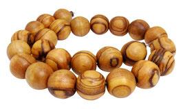 Olivenholz Kugeln ca. 15 mm  Holzperlen - ca. 25 Perlen