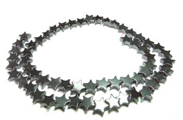 Hämatit Sterne 10 mm - Strang