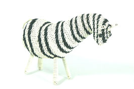Zebra aus buntem Draht