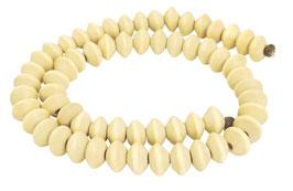 Ambaba-Weißholz Rondelle ca. 10x6,5 mm - Strang