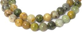 Sesamjaspis multicolor Kugeln 8 mm – Strang