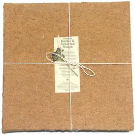 16 Stück Seife in Box aus handgeschöpftem Papier