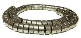 Pyrit Räder ca. 5x10 mm Heishi-Perlen - Strang