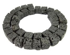 Lava Würfel ca. 10-11 mm - Strang