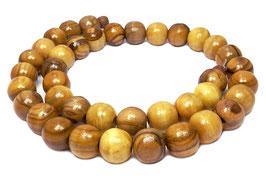 Olivenholz Kugeln ca. 10 mm  Holzperlen - ca. 39 Perlen