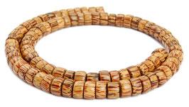 Kokospalmholz Räder 8 mm Heishi-Perlen - Strang
