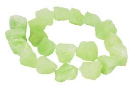 China Jade naturbelassene Nuggets ca. 13-18 mm - Strang