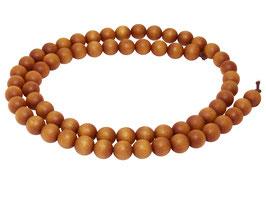 Indisches Sandelholz Kugeln 6 mm - ca. 65 Perlen